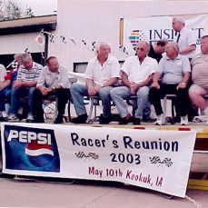 Racer's Reunion with special guest, Ray Nichols, minus Ernie as he was preparing his speech . . .  - DeJong - Greaves Celebration Of Life Centers