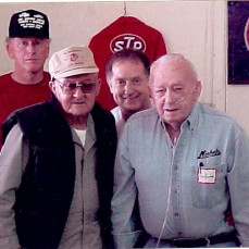 Ernie, Ray Nichols, Bill Mullin and John Johnson - DeJong - Greaves Celebration Of Life Centers