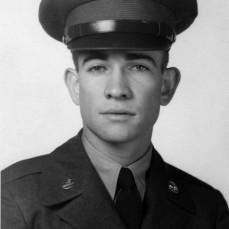 Gary Kolkman in US Army Basic Training 1956 at Fort Chaffee, Arkansas. - John Kolkman