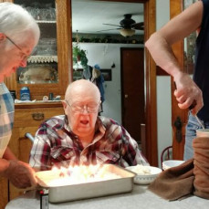 87th Birthday! Miss you Grandpa!  - Jamie