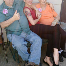 Love you Grandpa - Kaya Moninger