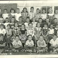 Carolyn 4th from right... 2nd row. Jefferson Grade School in Morton.  Best buddy and girl friend forever sweet Carolyn.  We will see each other again.   - Carol Miller