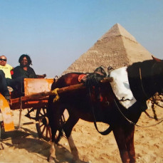Mom and Paul in Egypt - Nikole Mitchell