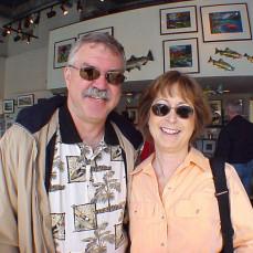 Greg, Carolyn, Seattle 2004 - Kevin Scofield