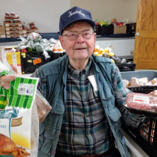 Food at First lost a very dear friend. Ken could be found most every day cheerfully volunteering in the Food at First Market. Ken loved helping his Food at First family, and everyone loved Ken. We truly miss you Ken.  - Ed Hendrickson jr