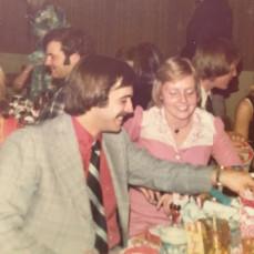 Chi O pledge dance circa 1973 (?). Cory and Ernie  - Marty Leighton