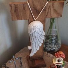 Love my cross, Chuck! - Julie Miller