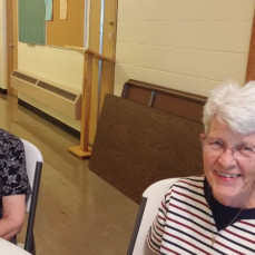 Diane and Marilyn at family reunion June 2016 - Teresa Miller Beckwith