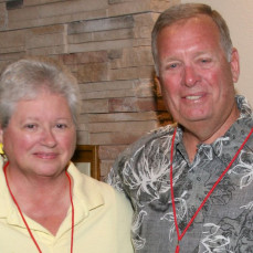 Janet & Dale at our 50 Year FDSH Class of '68 Reunion. - Sam Hartman