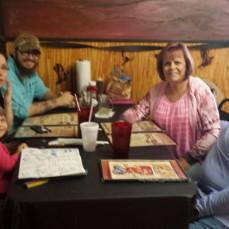 Davis Family enjoying celebrating my 50th Birthday!!  - Vinita Adwell