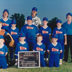 B52's Baseball Team David Wages Catcher Year 1991 Jeff Painter Was The Head Coach Asst Coaches Were Bob Wages, Jim Kirkpatrick, Dale Clark - Chris Stout