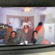 Uncle Harold and his sisters (Mary, Ethel, Thelma). He loved his family dearly. We will miss you Uncle Harold. - Lenetra L Jefferson