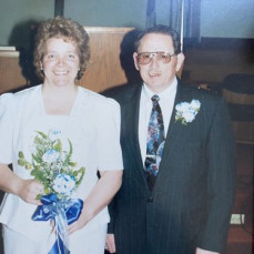 My mom Maxine and Ken at their wedding.  And family photos. And a fun photo in Branson missouri - Brenda Haynie