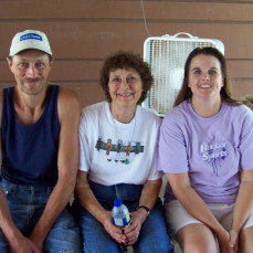 This picture was taken at the Schmidt Family reunion in July 2008.  It was so nice to visit with Jimmy that day! He will be missed. - Sandy Menke