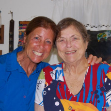 Howie and I were so happy to meet Donita and John back in August of 2009 at their home.  We send our love to the family and especially to Tamara, John, Liz and Amanda. - Kasey Jurgensen