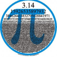 Last year,during class, he would recite a lot of the digits of pi and would almost always be right.  - Jon Hesse