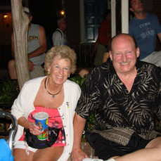 I guess he couldn't bear to be away from Diane for Valentine's Day! Rest in Peace. - Brian Schueler