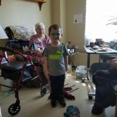 Henry and great-grandma - Mary Wruck