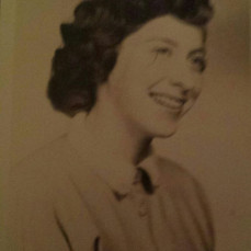 Her senior high school 1954 picture. Mom was a beautiful person inside & out. Heaven gained an angel. - Karen Burdette