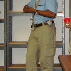 Rickey was always working or fixing something. Photo taken at Hazel's Retirement. - HBB
