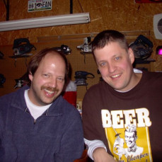 Attaching a great picture of Mike and my brother Rick Johnson.  They were lifelong best friends, even to the end.  I have three brothers, but Mike was always a fourth brother when I was growing up.  Also so nice, polite, smiling and friendly.  A genuine and true
