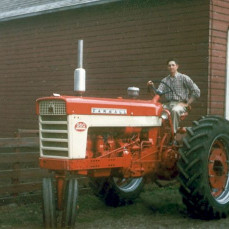 Gary Kolkman at his father, Delbert l Kolkman's farm in Yarmouth, Iowa.  - John Kolkman