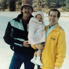 Mike me and Christy visiting me in Colorado great memories - Wayne carr