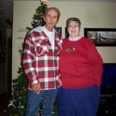 Christmas 2009~ Grandma Mudge and Grandpa Larry - Heather