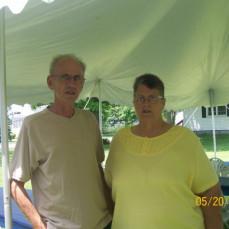 Larry & Mudge at Graduation - Heather