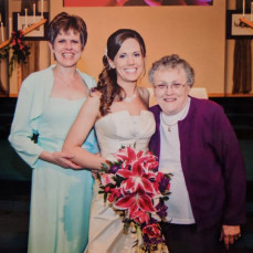 3 generations.  Miss her so much already.  She was an incredible grandma. - Megan