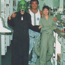 Halloween at Longs Drugs in 1989 - Janet Coney