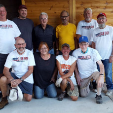 Eddie's Summer Horseshoe Team...The Paddle Inn - Dobie Gutweiler