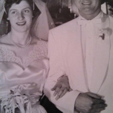 Mom & Dad 4/16/55 - Karen Burdette