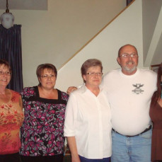 Siblings Joan, Anita, Kathy Steve & Shirley summer of Sept 2010 Anita  - Anita Rapp
