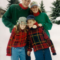 Holiday happiness at Big Sky! - Smith smiles x 4!