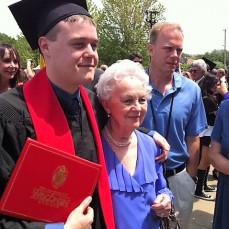 Grandma with Grandson Cory - Pat Kohn