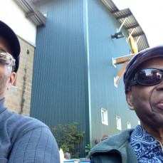 Fred Edward Cureton & Anthony Miller at the Washington State Fair 2013. - Anthony Miller