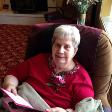 Beverly (Anderson) Werts in High School - Douglas Werts