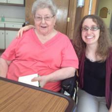 I love you Grandma and I will miss you. I enjoyed the times Natalie and I made