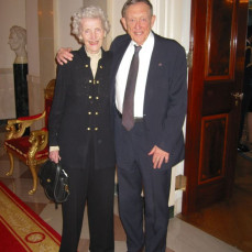 Mom and Dad at the White House - Robert W Lightfoot