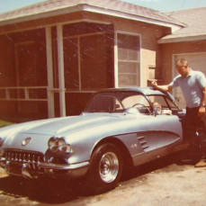 I miss my Dad so much, but glad he's no suffering anymore and now he's up in heaven with my daughter Nicole. So glad Dad got me into restoring cars at the young age of 8 ~ we had a lot of fun together. RIP Dad.  - Carole Niemietz