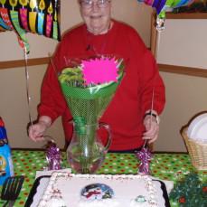 Lorraine's Birthday celebration at Rochester Baptist - Lisa Noonan
