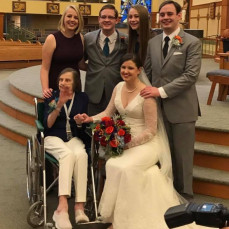 I knew when I saw this photo that it was going to be special. I'm sure she was thrilled to have all of her grandchildren together one last time. - Julie Jenkins