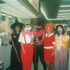 Halloween at Longs Drugs in 1988 - Janet Coney