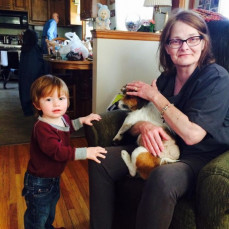 Love my mom so vary much the best grandma ever - Brandon