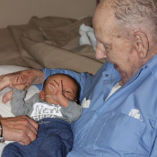 With great-grandchild #32 - Emily Melliere