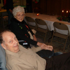 With his love of 68+ years - Annie