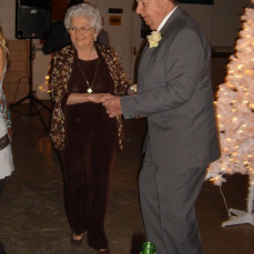 Dancing with the love of his life! - Annie