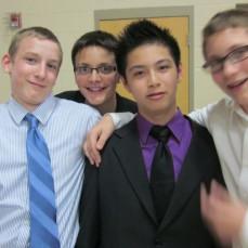 8th Grade Graduation with Isaac, Colin, Bachtri & Joseph - Isaac Hammer