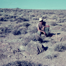 Field work in west-central Nevada in 1967 or 1968; photo by K.O. Stanley. - Bob Blodgett